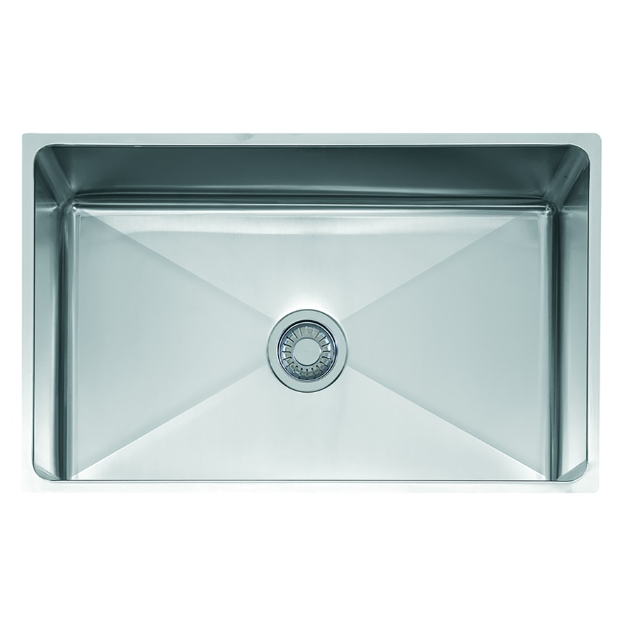 Franke Professional 19.5-in x 31.5-in Single-Basin Stainless Steel Undermount Commercial Kitchen Sink