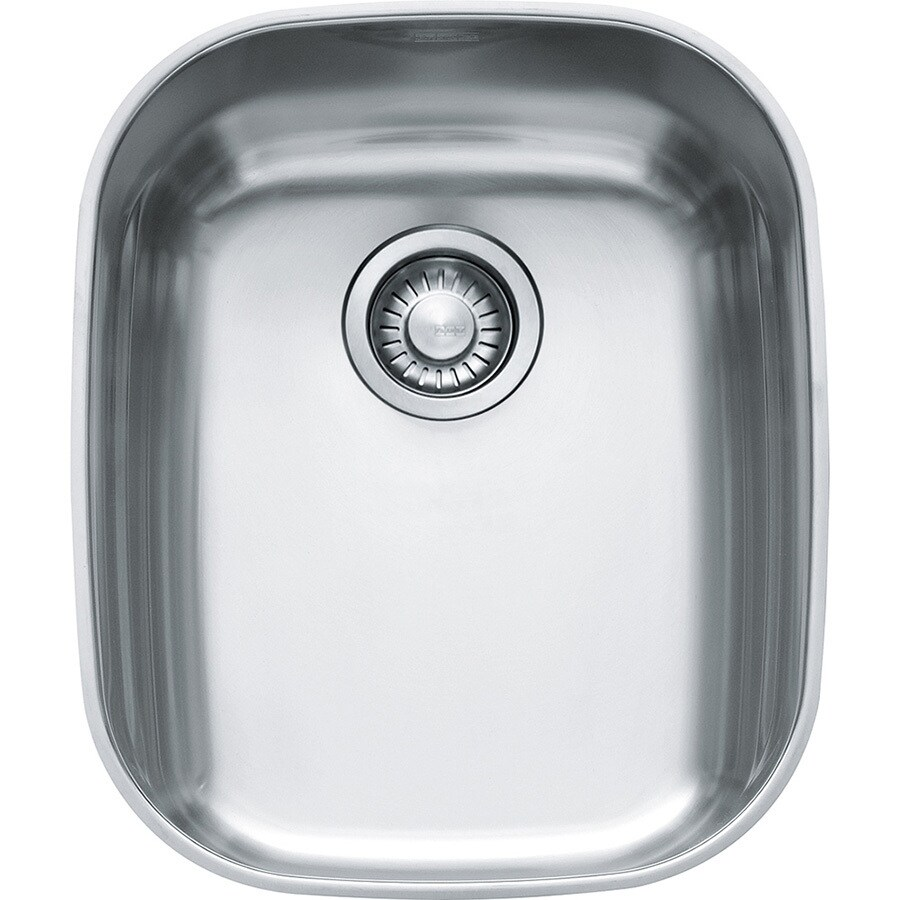 Franke Regatta 19.6875-in x 16.3125-in Stainless Steel 1 Stainless Steel Undermount (Customizable)-Hole Residential Kitchen Sink