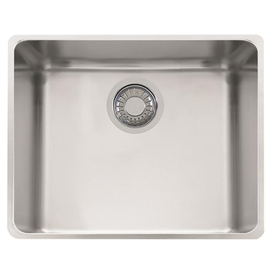 Franke Sink Kubus : Franke Kubus 16.9375-in x 18.875-in Single-Basin Stainless Steel ...