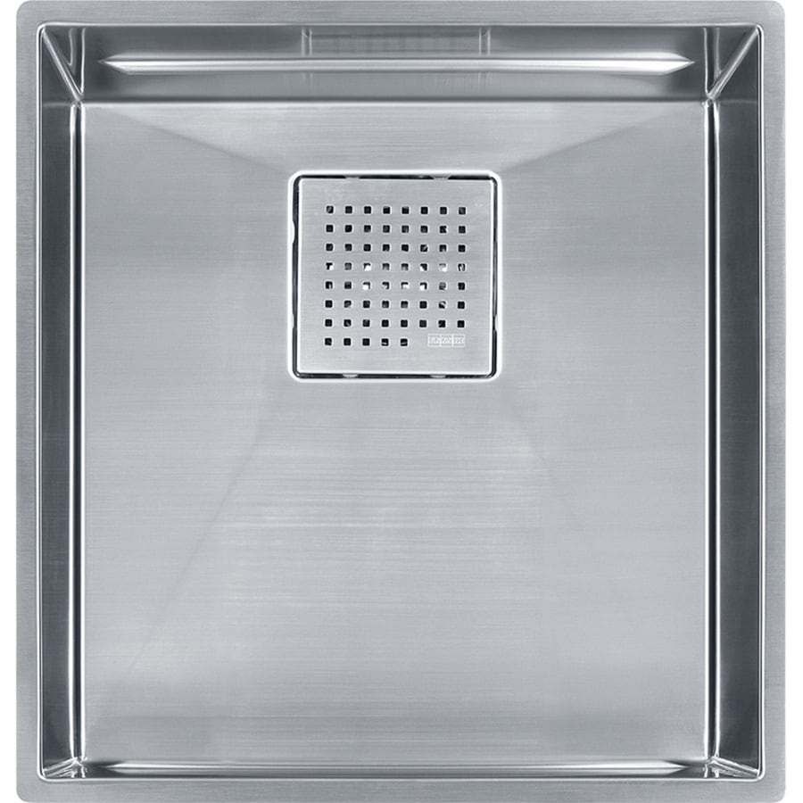 Franke Peak 17.75-in x 16.875-in Single-Basin Stainless Steel Undermount Residential Kitchen Sink