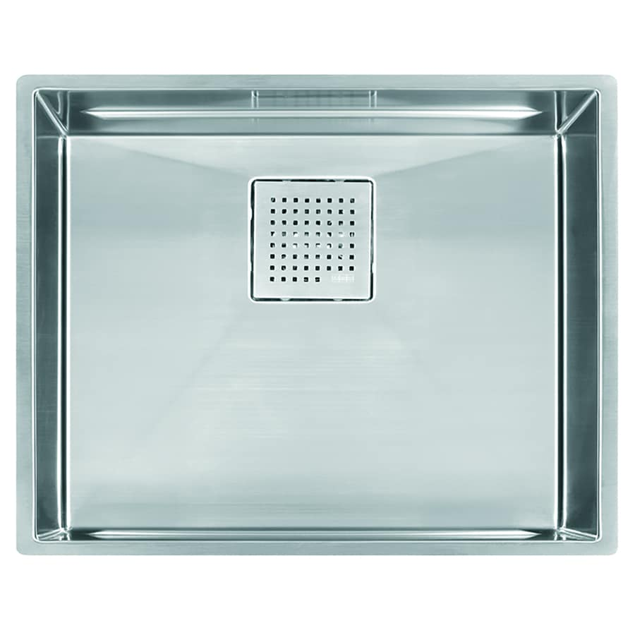 Franke Peak 17.75-in x 22.8125-in Single-Basin Stainless Steel Undermount Residential Kitchen Sink