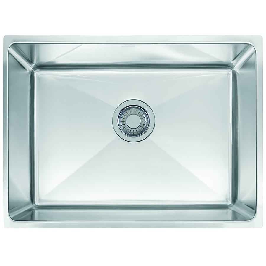 Franke Professional 17.625-in x 25.5-in Single-Basin Stainless Steel Undermount Commercial Kitchen Sink