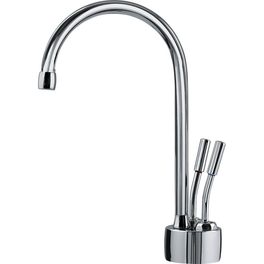 Franke Polished Hot and Cold Water Dispenser with High Arc Spout