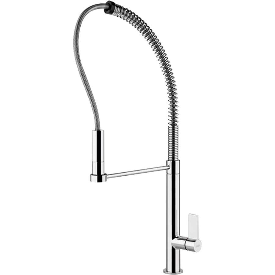 Shop Franke Ambient Chrome 1-Handle Pre-Rinse Kitchen Faucet at Lowes ...