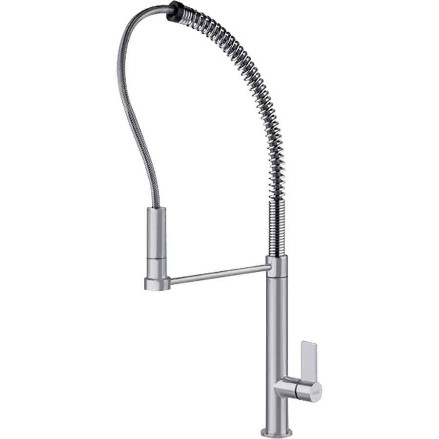 Franke Ambient Satin Nickel 1-Handle Pull-Out Kitchen Faucet
