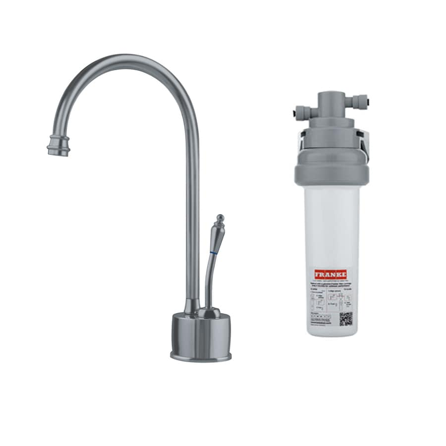 Franke Satin Cold Water Dispenser with High Arc Spout