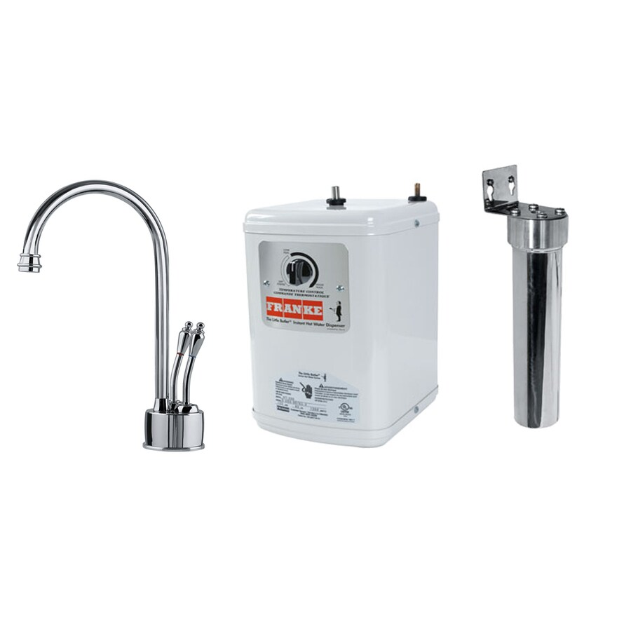 Franke Hot and Cold Water Dispenser with High Arc Spout