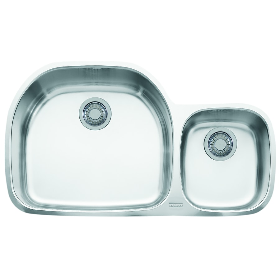 ... Basin Stainless Steel Undermount Residential Kitchen Sink at Lowes.com