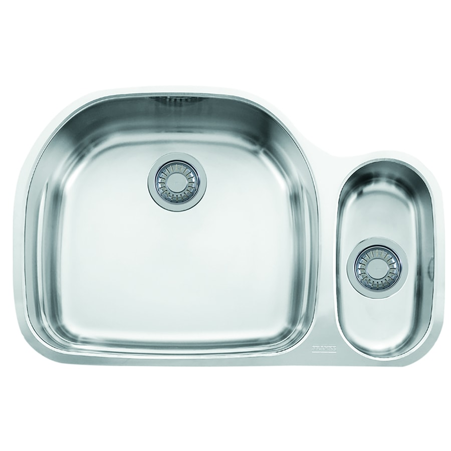 Franke Double Sink Undermount : ... -in Double-Basin Stainless Steel Undermount Residential Kitchen Sink