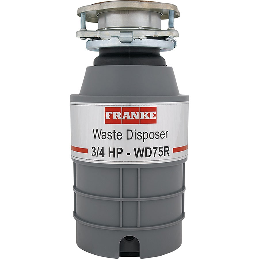 Franke 3/4-HP Continuous Feed Noise Insulated Garbage Disposal