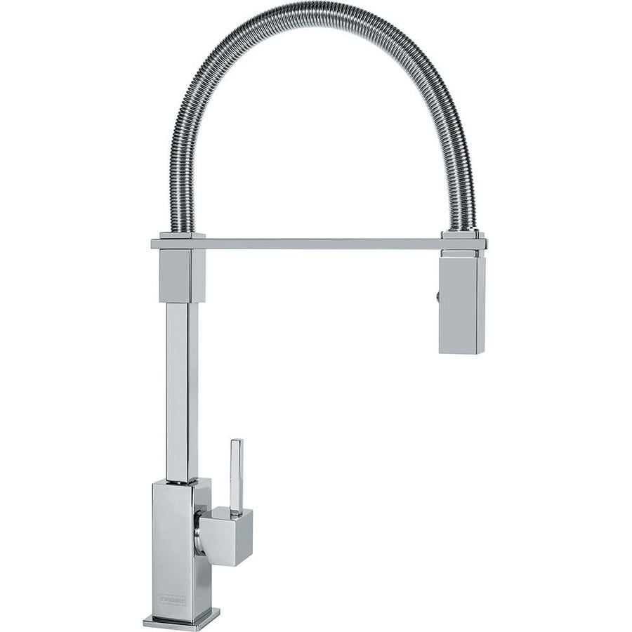 Shop Franke Planar 8 Chrome 1-Handle Pre-Rinse Kitchen Faucet at Lowes ...