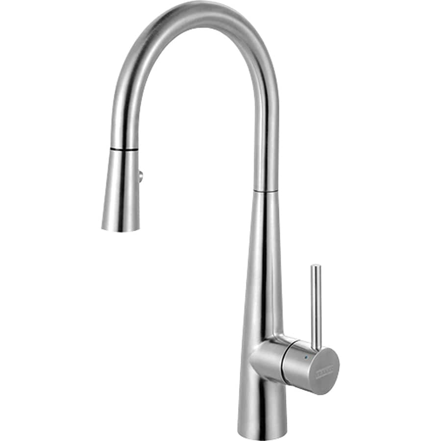 Shop Franke Ambient Stainless Steel 1-Handle Pull-Out Kitchen Faucet ...