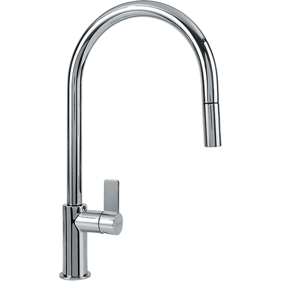 Franke Kitchen Faucet: Franke Ambient Chrome 1-Handle Pull-Down Kitchen Faucet At