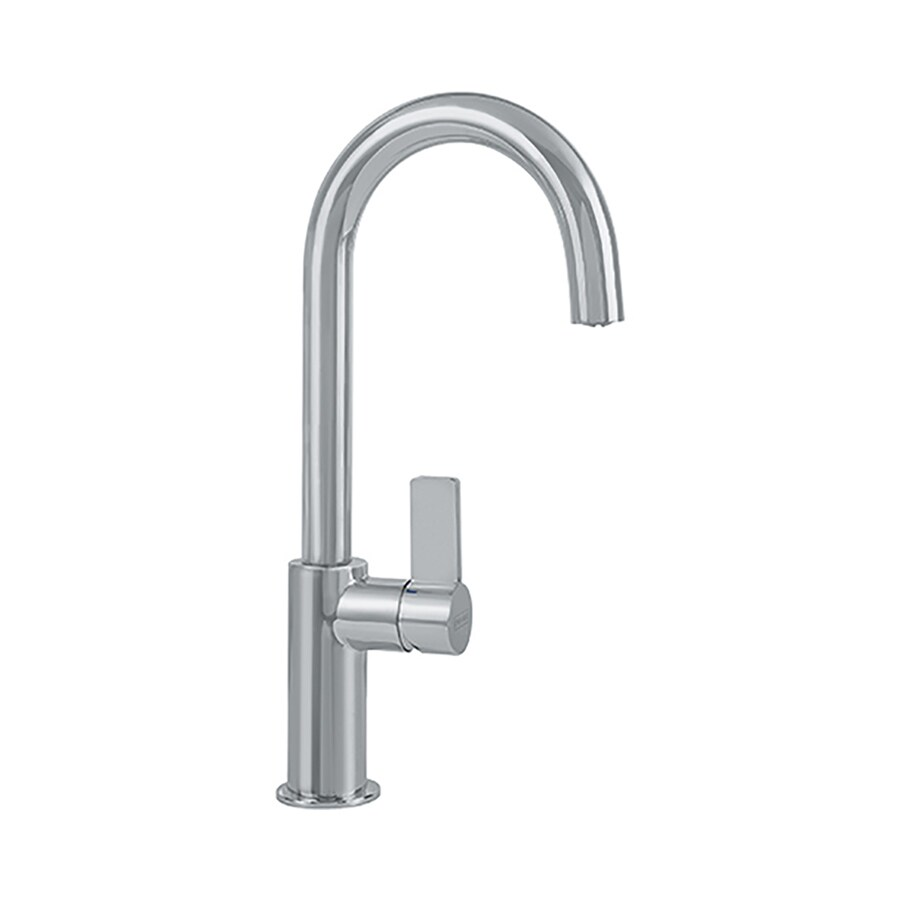 Franke Kitchen Faucet: Franke Ambient Franke Satin Nickel 1-handle Deck Mount