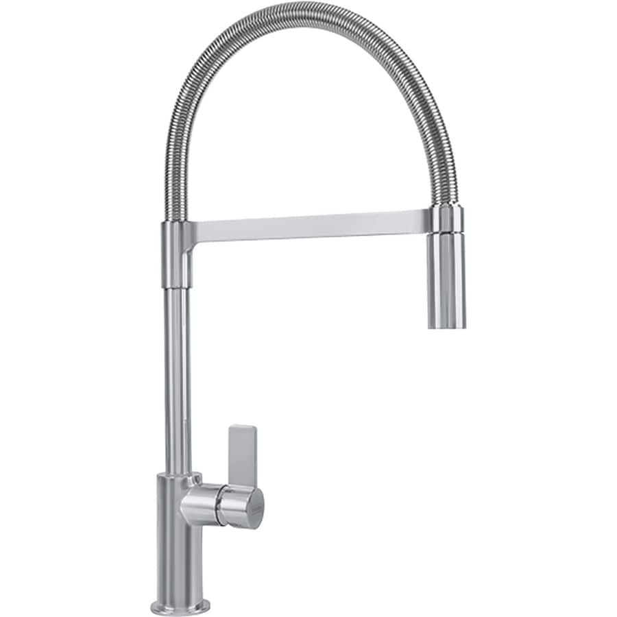 Franke Ambient Satin Nickel 1-Handle Pre-Rinse Kitchen Faucet