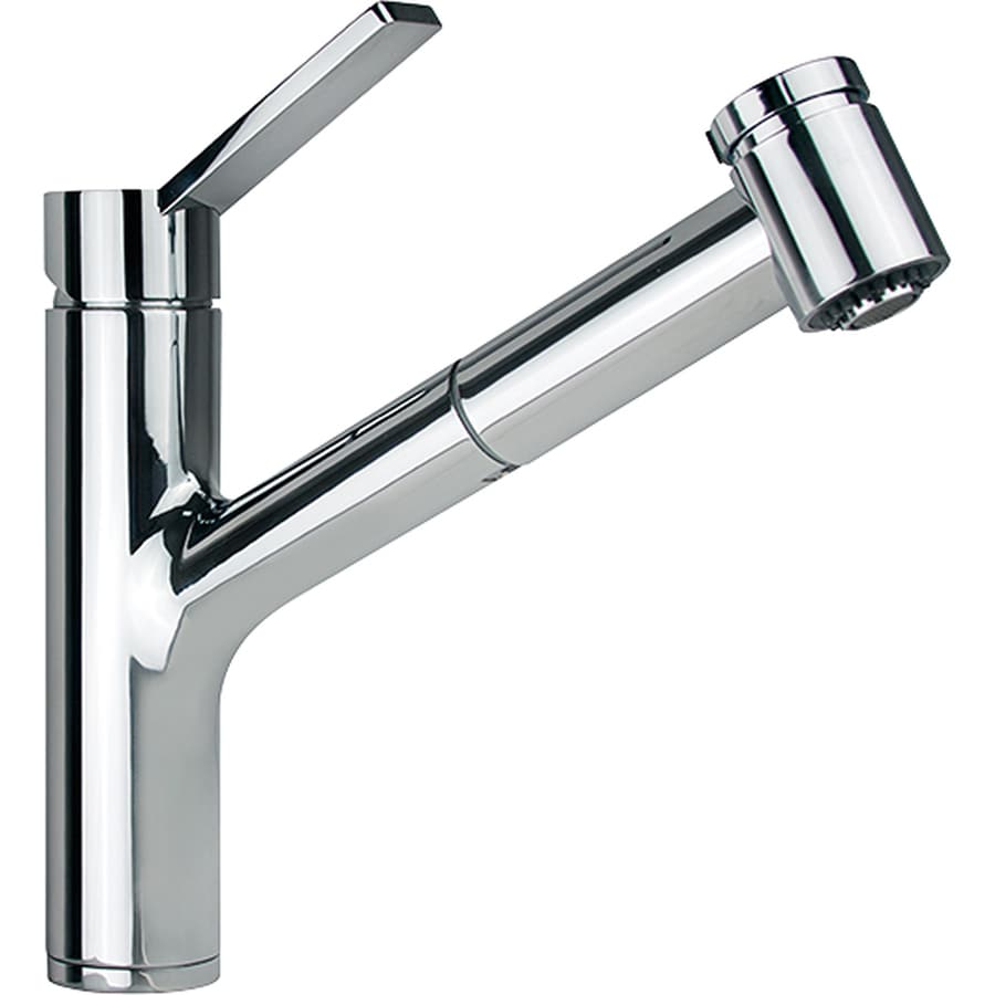 Franke Faucets : Shop Franke Ambient Chrome 1-Handle Pull-Out Kitchen Faucet at Lowes ...