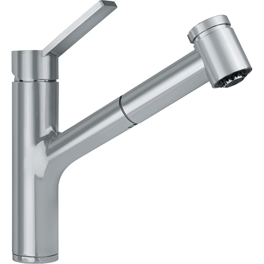 Franke Kitchen Faucet: Franke Ambient Satin Nickel 1-Handle Pull-Out Kitchen