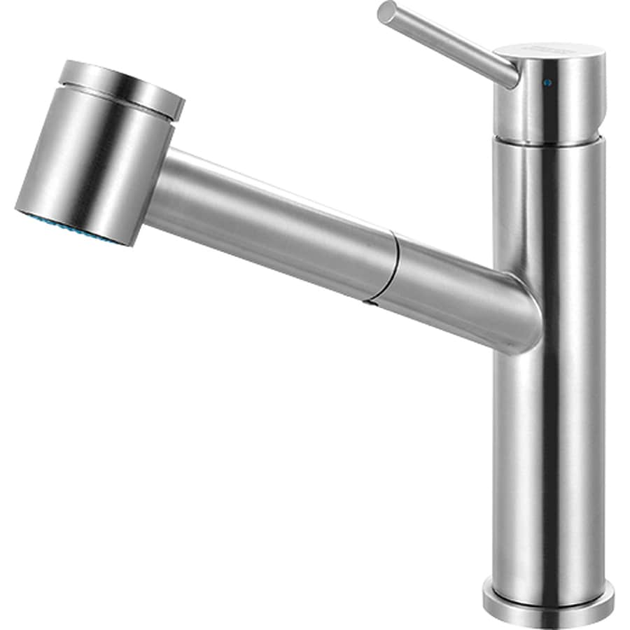 Franke Steel Stainless Steel 1-Handle Pull-Out Kitchen Faucet