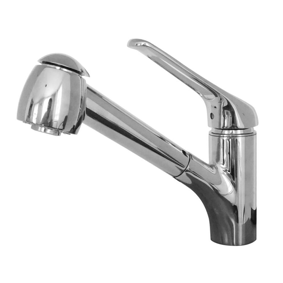 Franke Valais Chrome 1-Handle (Sold Separately) Pull-out Kitchen Faucet