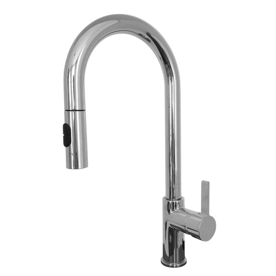 Franke Rigo Chrome 1-Handle (Sold Separately) Pull-down Kitchen Faucet