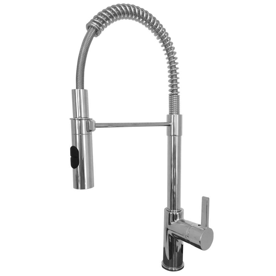 Franke Fuji Chrome 1-Handle (Sold Separately) Pull-down Kitchen Faucet