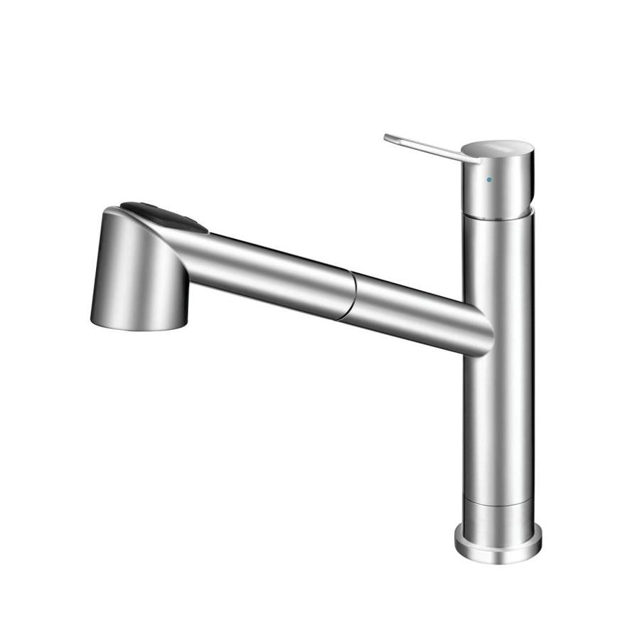 Franke Bernard Stainless Steel 1-Handle (Sold Separately) Pull-out Kitchen Faucet