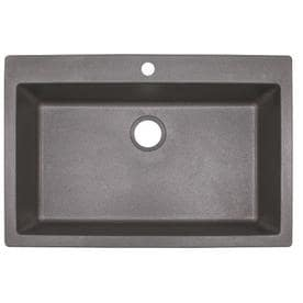 Franke Primo 33 In X 22 In Shadow Grey Single Basin Drop