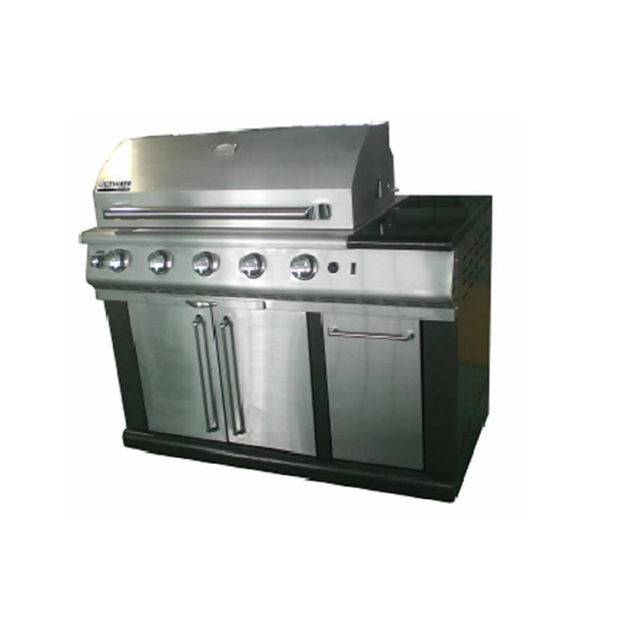 Sonoma By Altima 4 Burner Black Modular Island Gas Grill