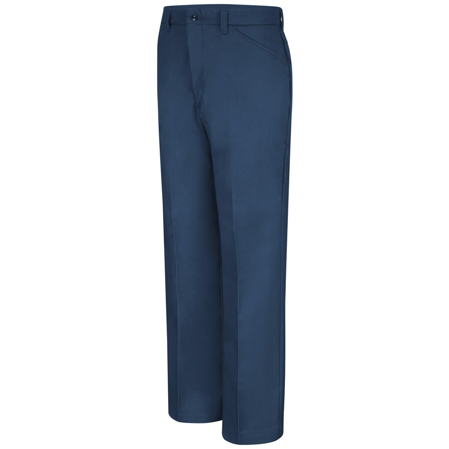 Red Kap Men's 44 x 32 Navy Twill Work Pants