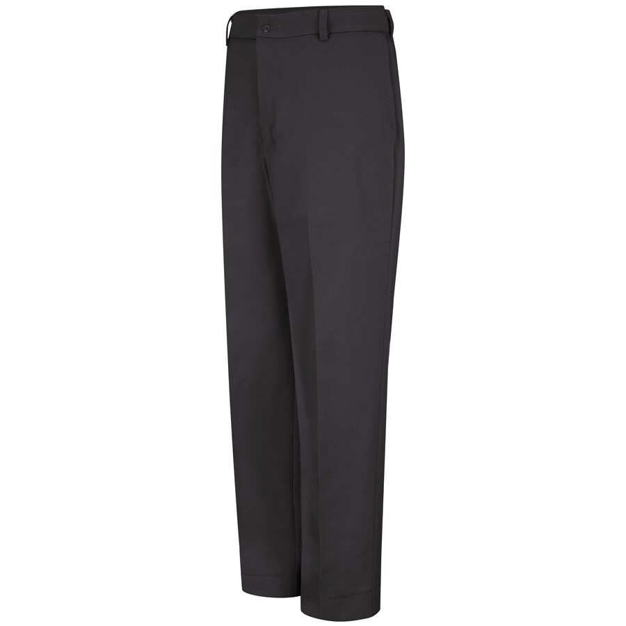 Red Kap Men's 28 x 32 Black Twill Work Pants