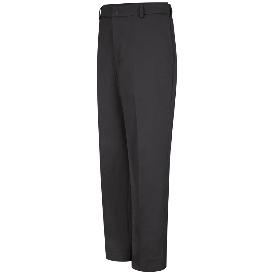 Red Kap Men's 50 x 34 Black Twill Work Pants