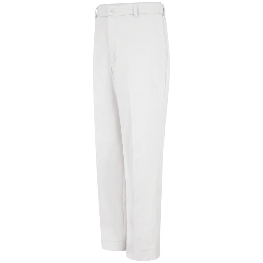 Red Kap Men's 48 x 30 White Twill Work Pants