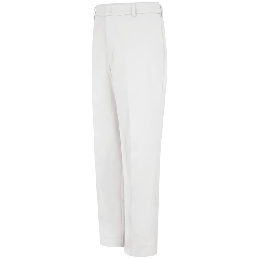 Red Kap Men's 48 x 34 White Twill Work Pants