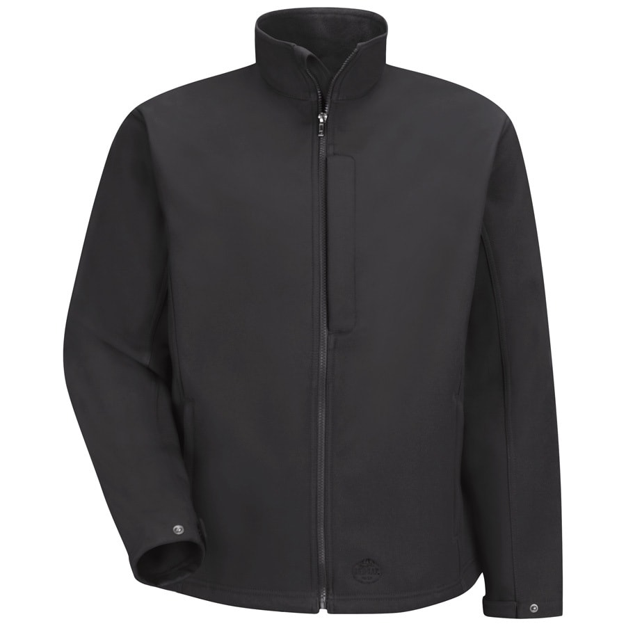 Red Kap X-Small Unisex Black Twill Work Jacket