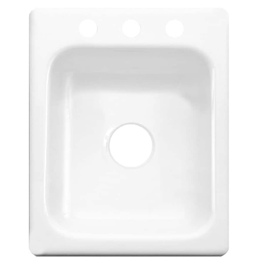 CorStone White Acrylic Drop-In Sink