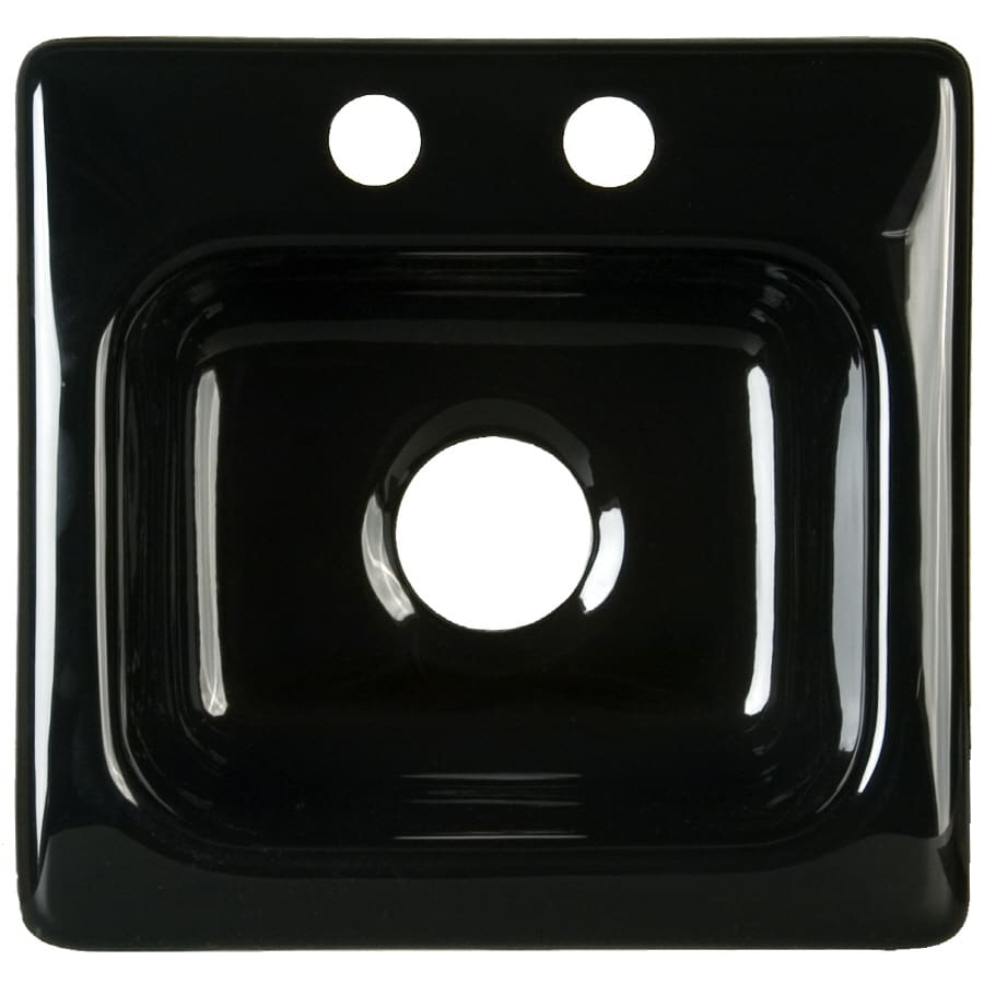 CorStone Berkeley Black Acrylic Drop-In Sink