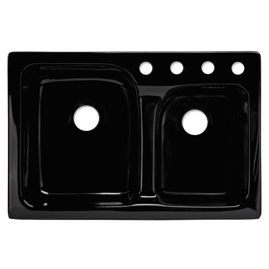 corstone providence double basin drop in acrylic kitchen sink shop corstone providence double basin drop in acrylic kitchen sink      rh   lowes com
