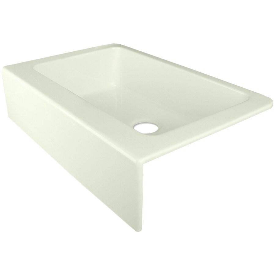 Merveilleux CorStone Tea Green Single Basin Acrylic Apron Front/Farmhouse Kitchen Sink