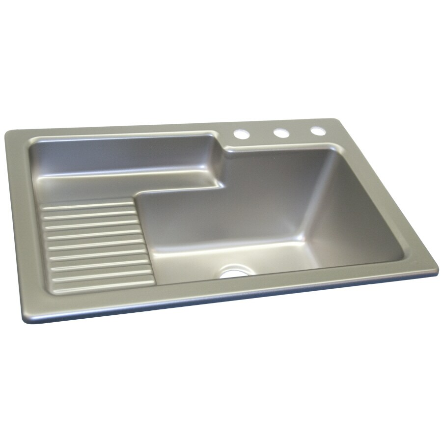 Corstone Steel Self Acrylic Laundry Sink