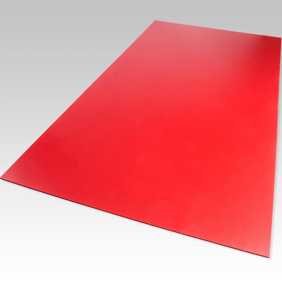 Palight ProjectPVC Red Foam PVC Sheet (Common: 12-in x 12-in; Actual: 12-in x 12-in)