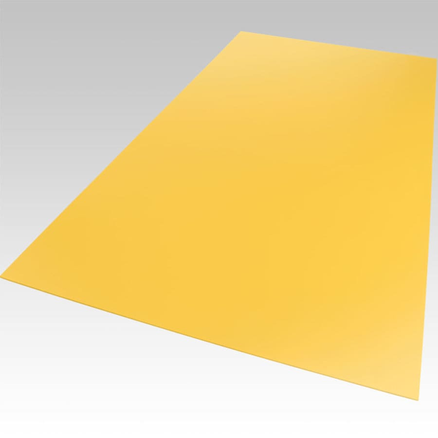 Palight ProjectPVC Yellow Foam PVC Sheet (Common: 18-in x 24-in; Actual: 18-in x 24-in)