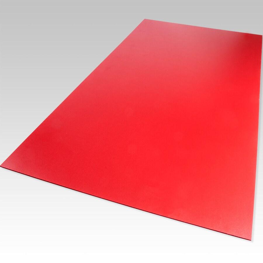 Palight ProjectPVC Red Foam PVC Sheet (Common: 12-in x 12-in; Actual: 12-in x 12-in)