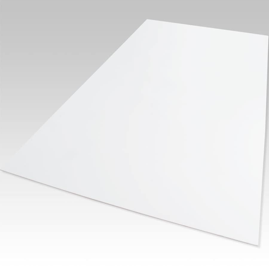 Palight ProjectPVC White Foam PVC Sheet (Common: 12-in x 12-in; Actual: 12-in x 12-in)