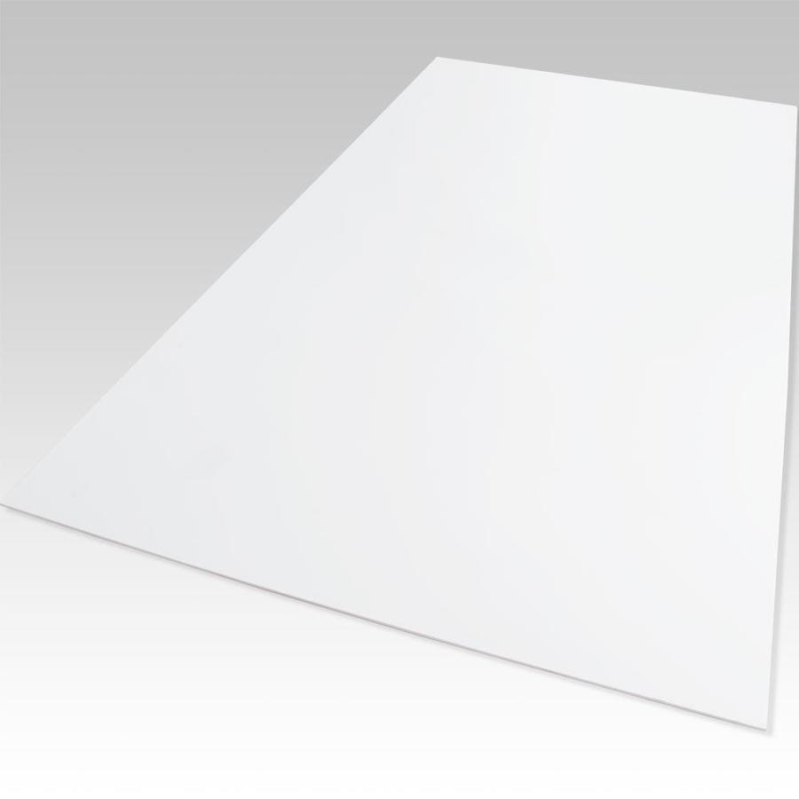 Palight ProjectPVC White Foam PVC Sheet (Common: 18-in x 24-in; Actual: 18-in x 24-in)