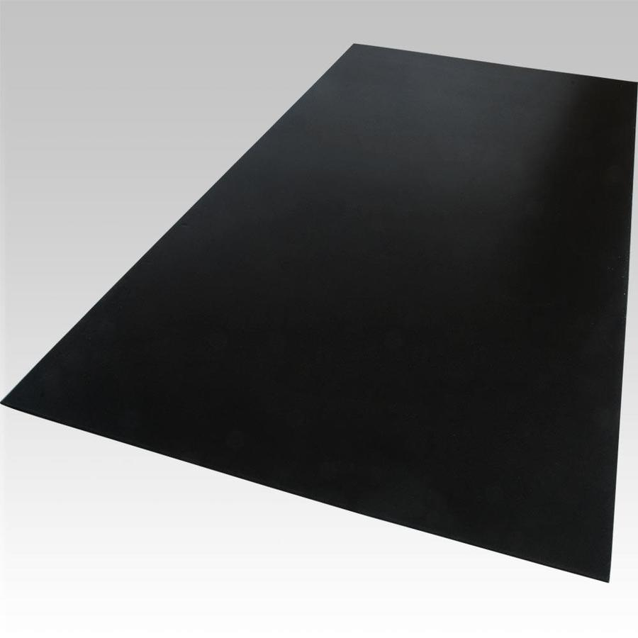 Palight ProjectPVC Black Foam PVC Sheet (Common: 24-in x 48-in; Actual: 24-in x 48-in)