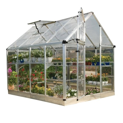 Palram Snap and Grow Greenhouse 8-ft L x 6-ft W x 6 75-ft H