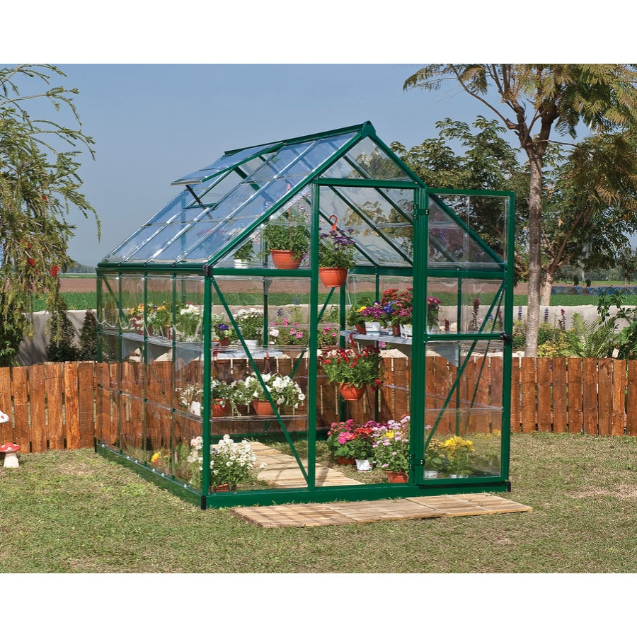 Superieur Palram Harmony Greenhouse 8.13 Ft L X 6.06 Ft W X 6.85 Ft