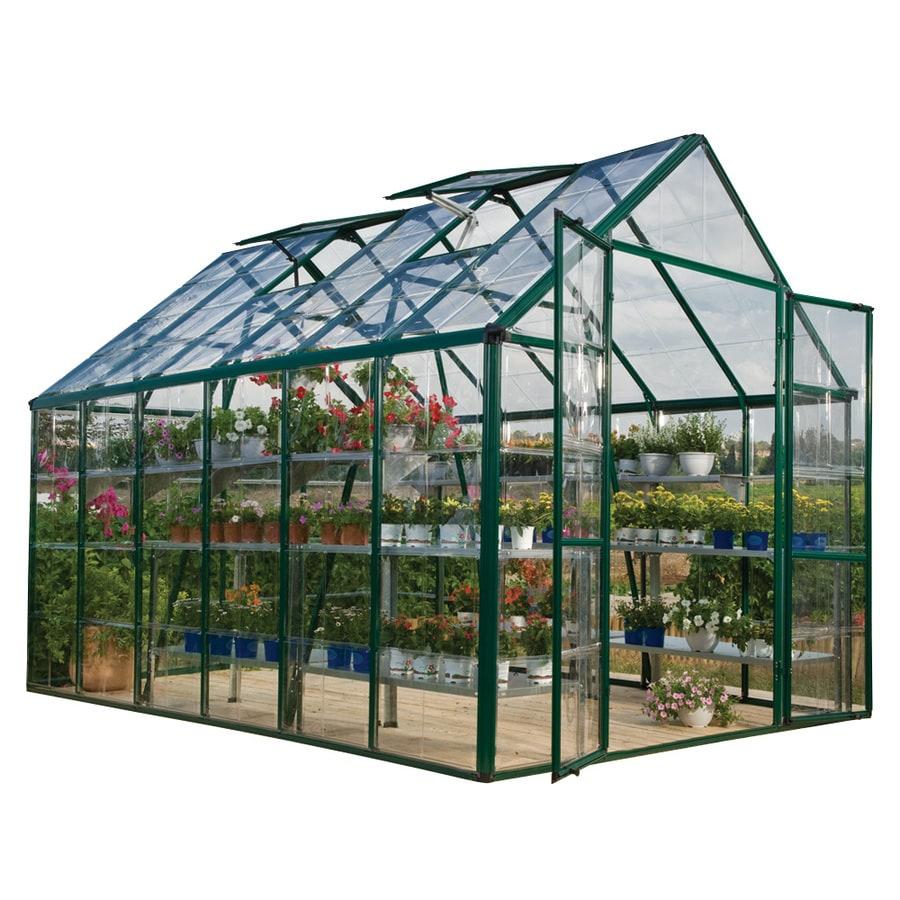 Palram 12.25-ft L x 8.1-ft W x 8.54-ft H Polycarbonate Greenhouse