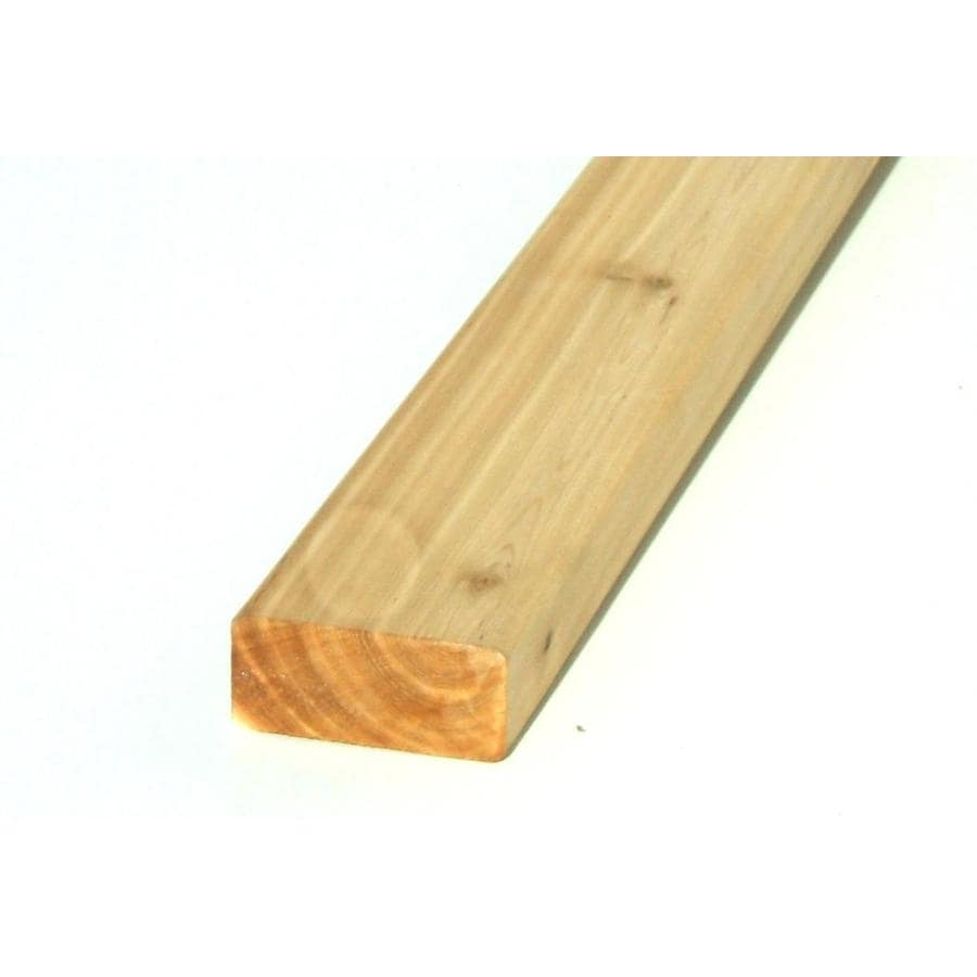 (Common: 1-in x 2-in x 16-ft; Actual: 0.75-in x 1.5-in x 16-ft) Cedar Board