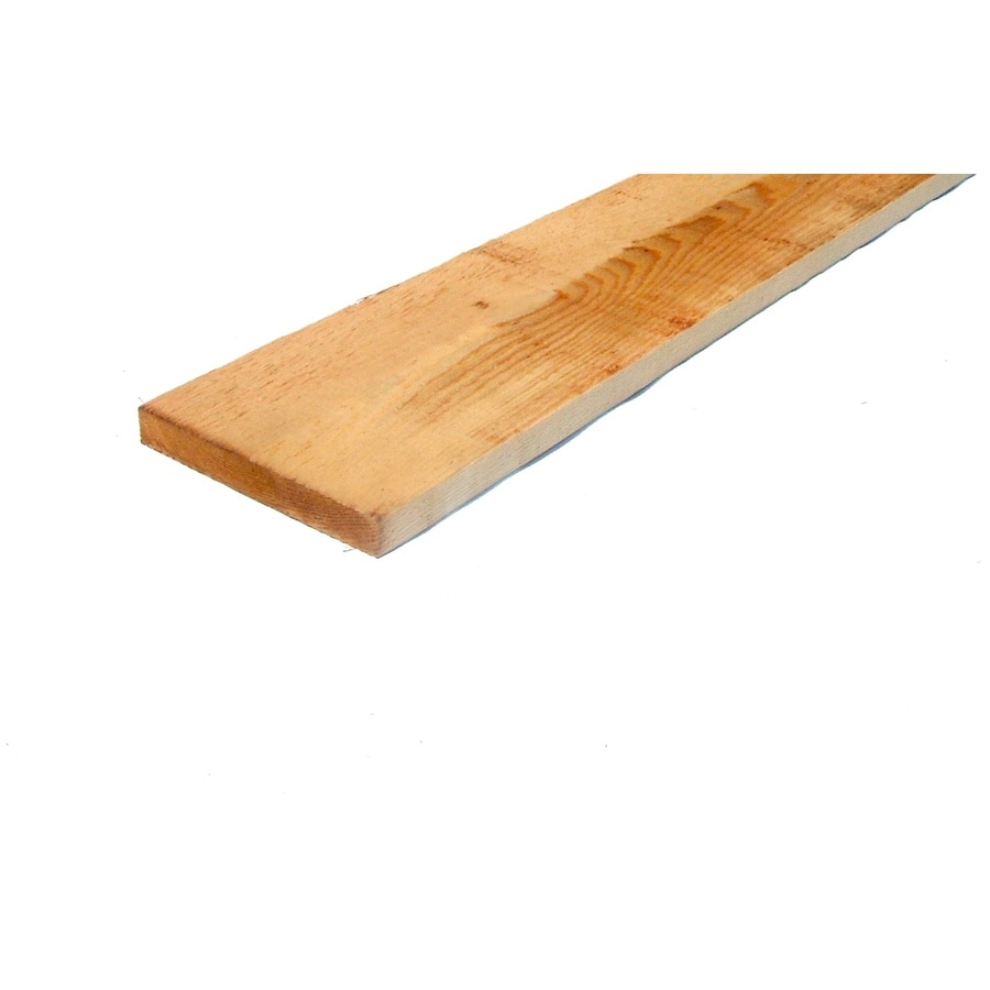(Common: 1-in x 6-in x 14-ft; Actual: 0.75-in x 5.5-in x 14-ft) Cedar Board